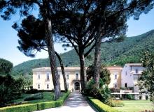 Certosa di San Giacomo - Vista dall'ingresso